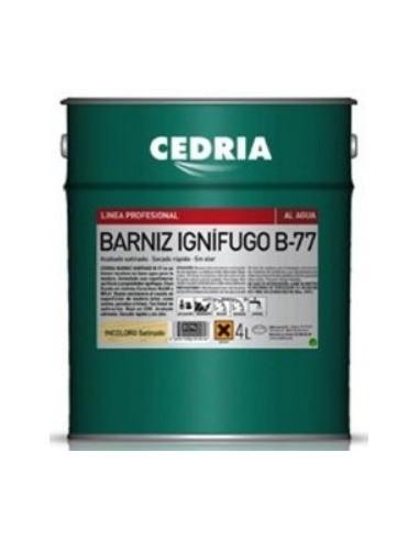 Barniz ignifugo Cedria b-77