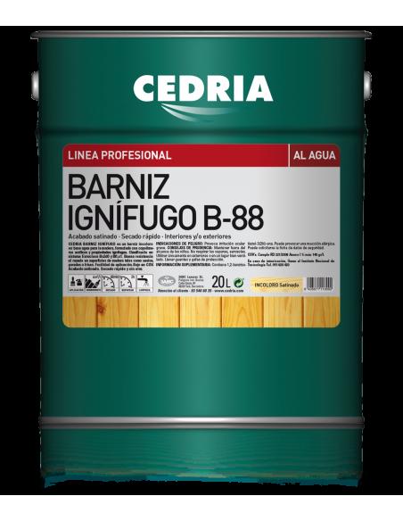 Barniz ignifugo Cedria b-88