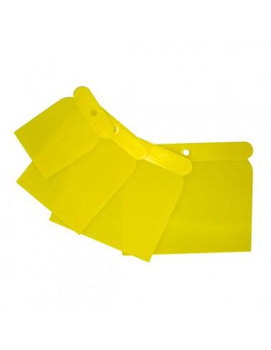 Espatula Carrocero Plastico 4 Piezas