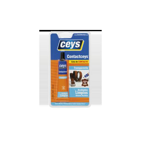 Cola Contacto Transparente Ceys