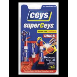 Pegamento Instantáneo Superceys Unick