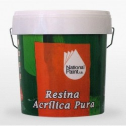 Resina Acrilica Pura National Paint