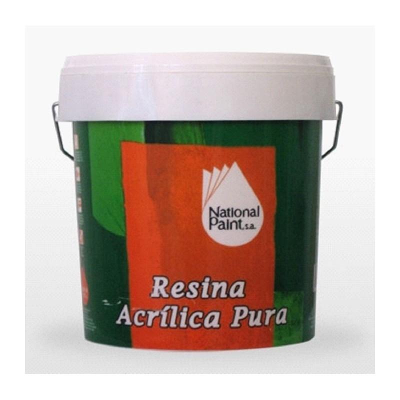Resina Acrilica Pura National Paint