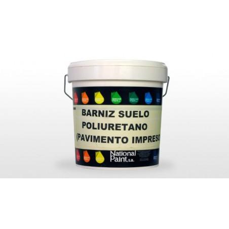 Barniz Suelo Poliuretano Pavimento Impreso National Paint