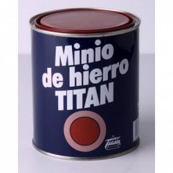 Pintura De Minio De Hierro Titan - Imprimacion Sintetica Grasa