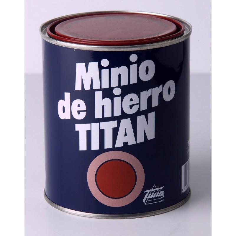 Pintura de minio de hierro titan imprimacion sintetica grasa - Pinturas titan precios ...