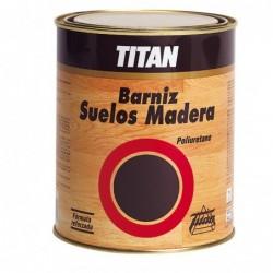Barniz Titan Para Suelos De Madera - Poliuretano Satinado