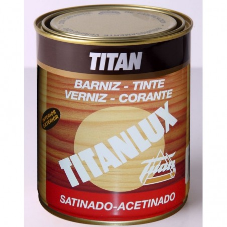Barniz Tinte Titanlux Sintetico Satinado