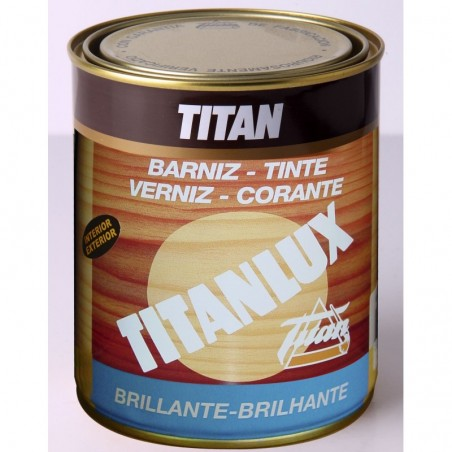 Barniz Tinte Titanlux Sintetico Brillante