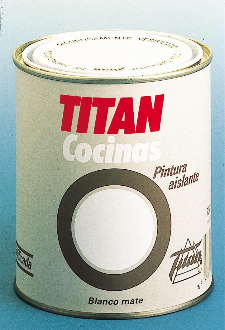 Titan aislante cocinas pintura especial ba os y cocina - Pintura especial para banos ...