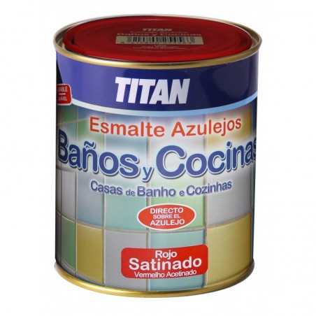 Titan Baños y Cocinas - Esmalte Para Azulejos