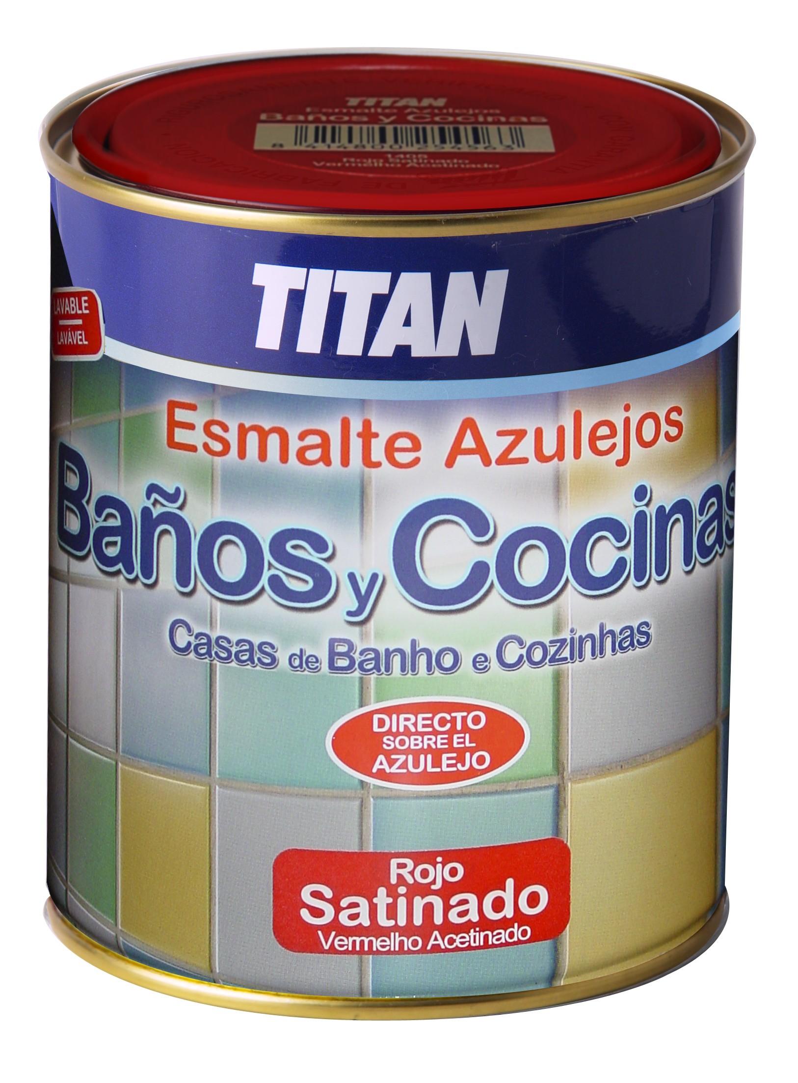 Pintura para azulejos pintar azulejos ba o titan ba os y cocinas - Pintura para cocinas y banos ...