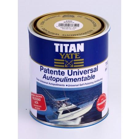 Patente Autopulimentable Universal Velocidad Alta Titan Yate