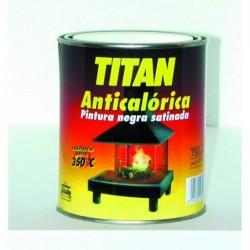 Titan Anticalorica Pintura Negra Satinada