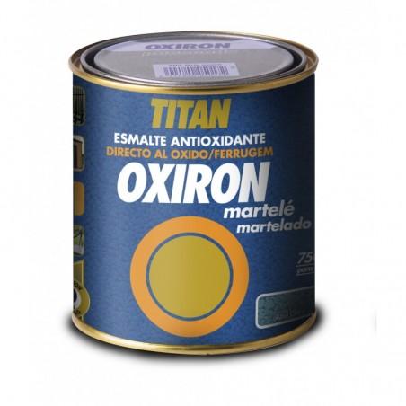 Oxiron Martele Esmalte Antioxido Metalico Martillado Titan