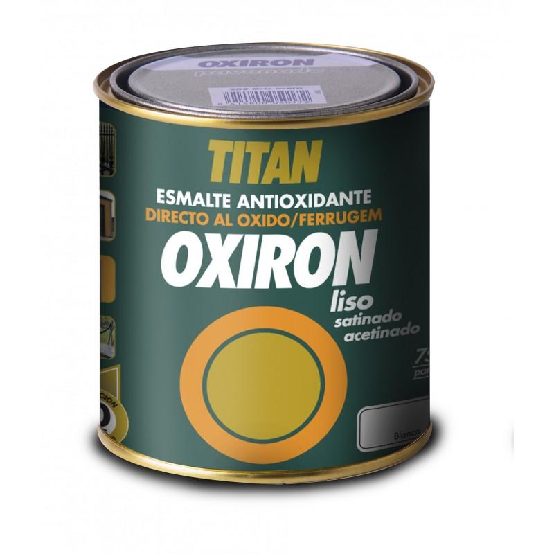 Oxiron Liso Esmalte Antioxido Satinado Titan