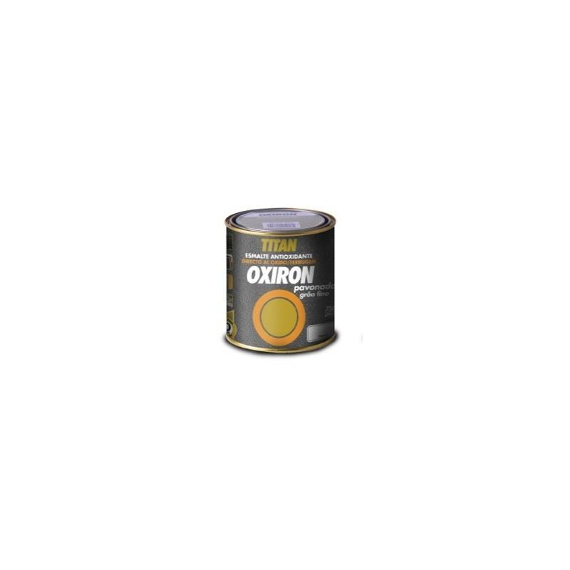 Oxiron Pavonado Esmalte Antioxido Metalico Titan