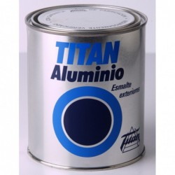 Esmalte Titan Aluminio Exteriores