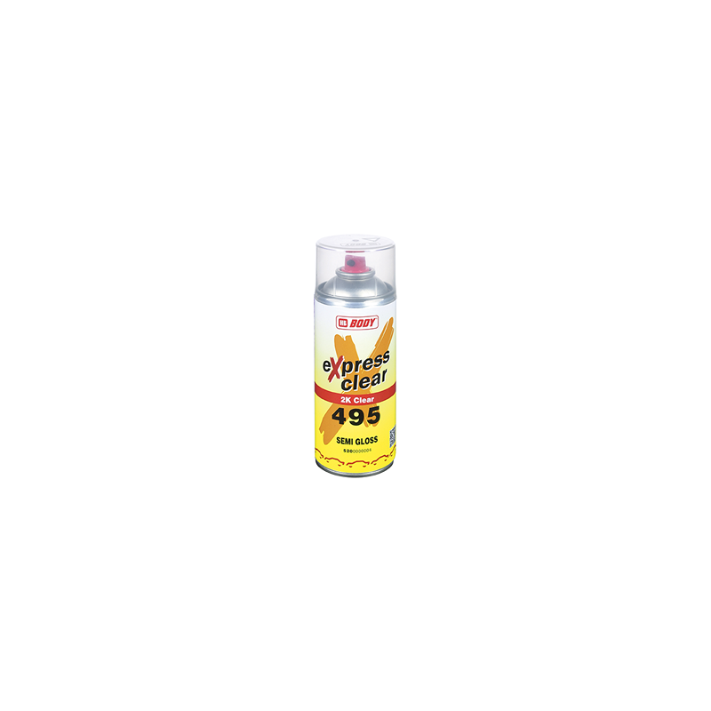 Laca Semi Mate - 495 Spray Semi Gloss Body