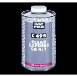 Laca Alta Calidad Secado Rapido + Catalizador - Body 495 Autoclear 4:1 Rapid SR + 721 Hardener Slow -  Nuevo envase