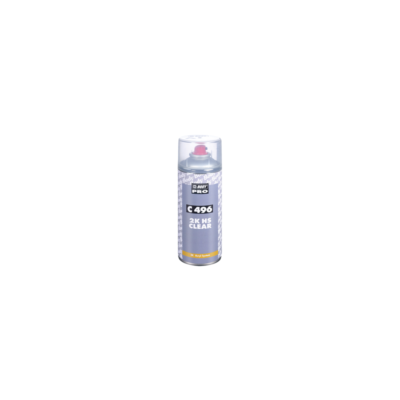 Spray Laca Alta Calidad Body 496 Autoclear HS Spray