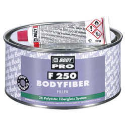 Masilla de Fibra de Vidrio - 250 Bodyfiber Fiberglass 2K Polyester Filler