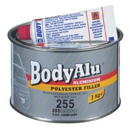 Masilla De Aluminio Body - 255 Bodyalu 2K Aluminium Polyester Filler