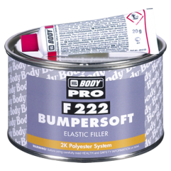 Masilla Para Plásticos 222 Body Bumpersoft 2K Bumper Polyester Filler - Nuevo envase