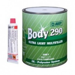 Masilla de Relleno 290 Ultra Light Multifiller - Body 290 Ultra Light Multifiller