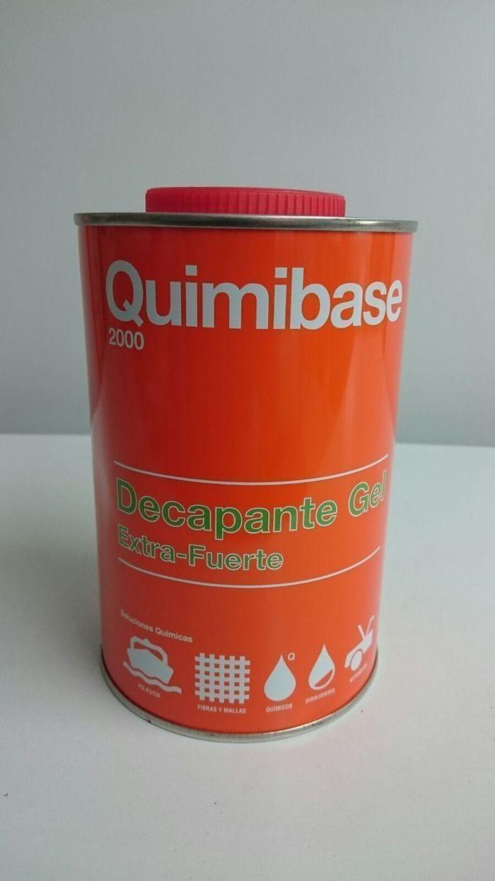 Decapante gel q291 quimibase for Decapante para madera