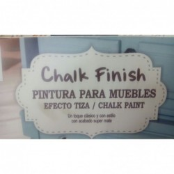 Pintura Efecto Tiza Chalk Finish