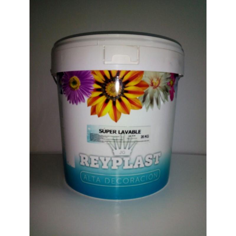 Reyplast Súper Lavable Pintura Plástica al Agua Mate