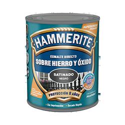 Hammerite Satinado Esmalte Directo Sobre Hierro y Óxido
