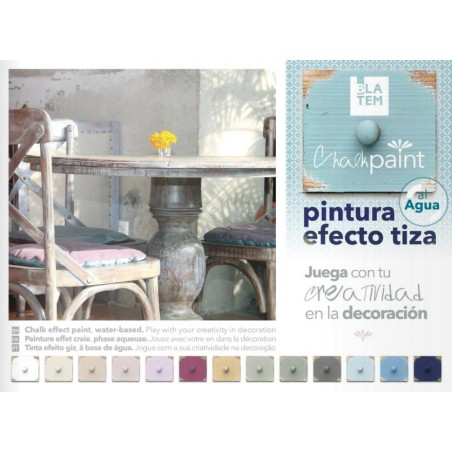 Pintura a la Tiza Blatem Chalk Paint Ejemplo 1