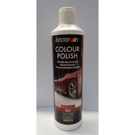 PULIMENTO COLOR ROJO 500 ML