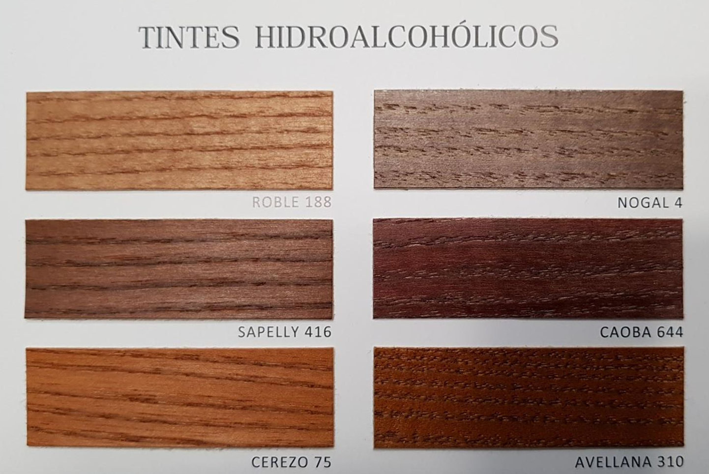Tintes Hidroalcoholicos Sambara ~ Reparar Arañazos Madera Barnizada